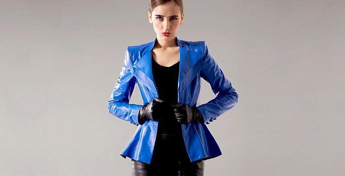 Как выбрать кожаную куртку по типу фигуры