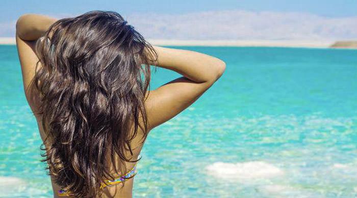 Солевой пилинг для укрепления и роста волос