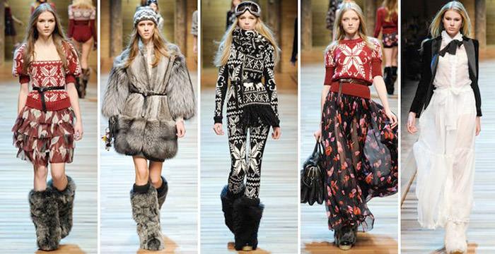 Скандинавский стиль в одежде. Варианты нестандартных сочетаний