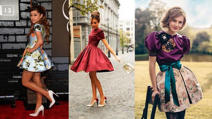 Платья в стиле бэби-долл. Изящность и романтичность