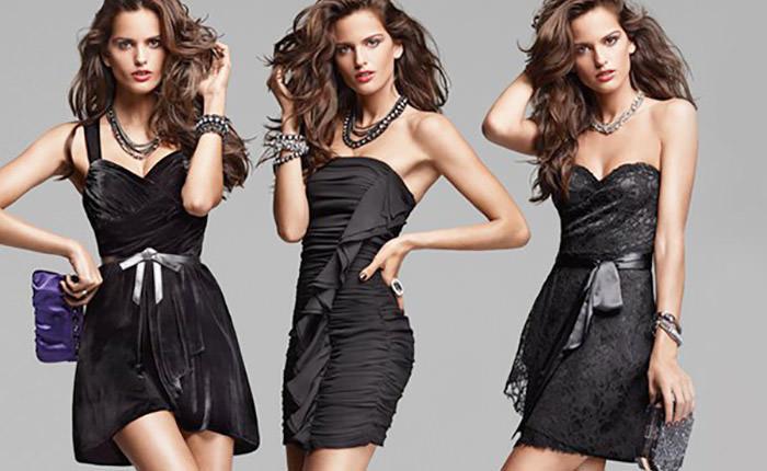 Маленькое чёрное платье. Изящество и минимализм