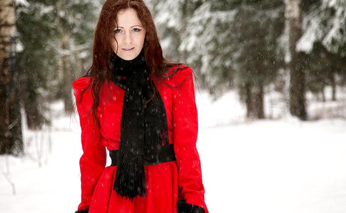 Выбор красного платья. Будь в центре внимания