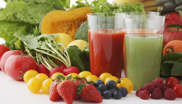 Овощные соки для здоровья и молодости